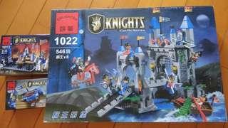 三盒全新玩具積木 not lego