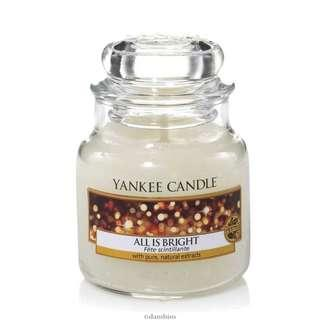 Yankee Candle (All is Bright)