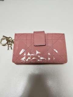 LADY DIOR CALFSKIN CARD HOLDER (Dior cardholder)