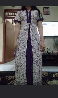 Couple batik purple