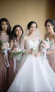 Wedding gown (on sale)