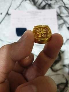 🚚 Gold Ring .999