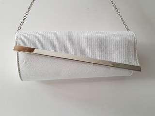 White Colette Sling Bag