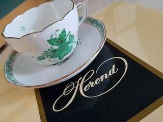 HEREND TEA SET FOR 2