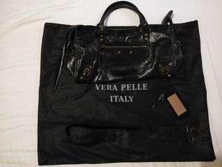 Vera Pelle Genuine Leather Handbag