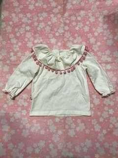 ✌🏻女嬰長袖衫