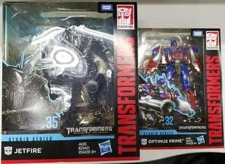 全新 孩之寶 變形金剛 ss32 ss35 柯柏文 天火  合體 set jetfire Optimus prime 電影版 studio series transformer