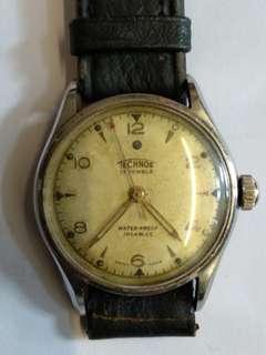 古董端士得其樂男装機械表,17石,行走正常,32mm,品相如圖。