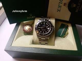 勞力士Rolex 16710 GMT 2 K頭紙原裝砂