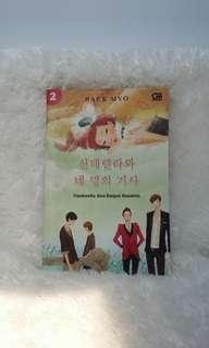 Buku Novel Cinderella dan Empat Kesatria by Baek Myo buku novel
