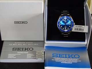 Seiko 精工 5 sports 藍面 SRPB89K1 4R35 全新 Bland new 100M WR
