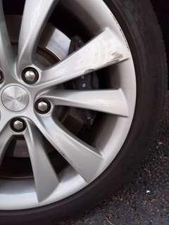 """Tesla Model S 19"""" Wheel Repair"""
