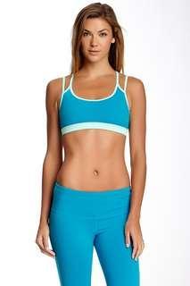 BNWT Glyder Paradise Crisscross Sports Bra - Emerald / Mint, Size S
