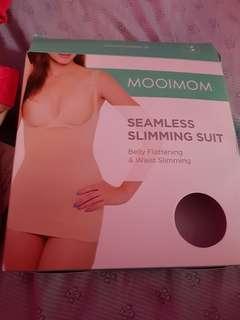 Seamless slimming suit