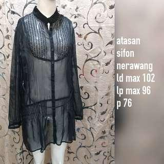 Atasn black see through