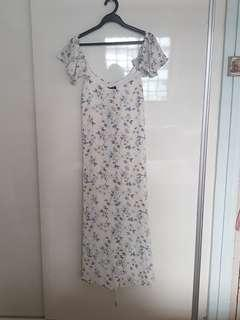 BNWT Zalora Floral Dress #ENDGAMEyourEXCESS