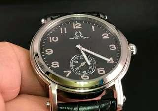 Orig Titus Leather Mens Watch