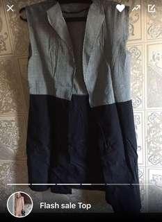 #buy1Get1free, Vest dan celana tribal