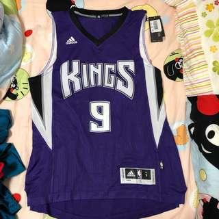 Adidas NBA 波衫 / 球衣 (美版Swingman) custom made Kings Rondo (size S)