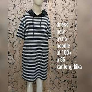 Dress hoodie stripes