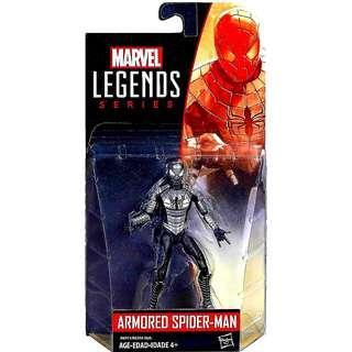 MISB Marvel Legends Armored Spider-Man Action Figure