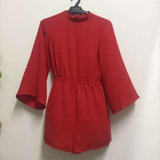 NEW Something borrowed red jumpsuit