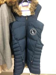 Sleveless Winter Jacket
