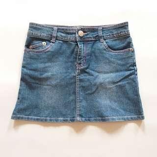 Denim Skirt Rok Jeans Merk Ezpresso