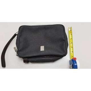 Dunhill Black Zipper Clutch 黑色手提包