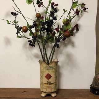 二手復古花瓶