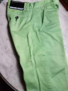 New Ladies Green Chino Long Pants.