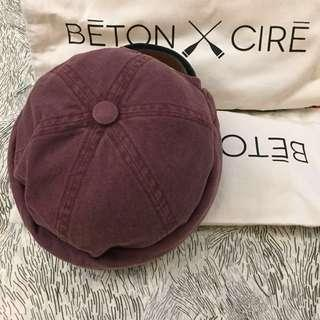 Beton Cire Miki Hat Coral Red
