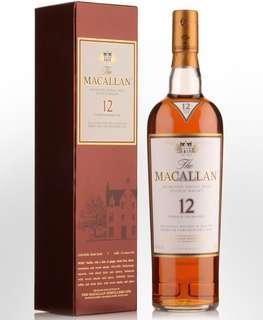 macallan 12年 日版 sherry oak