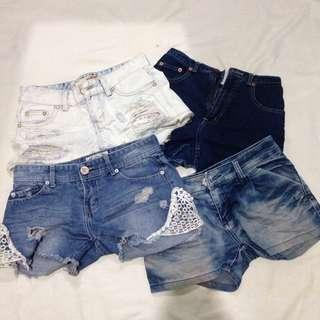 ALL SHORTS FOR PHP180