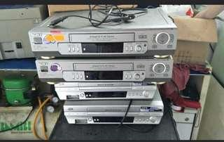 Video Cassette Recorder for sale (5pcs) @$40 each