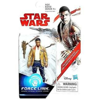 Star Wars Force Link The Last Jedi Finn (Resistance Figther) Action Figure