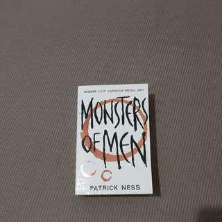 [Preloved] Monsters of Men by Patrick Ness (english)