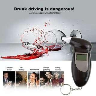Mini portable breath analyzer