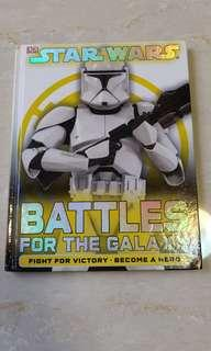 Star wars, battles for the galaxy, 英文圖書