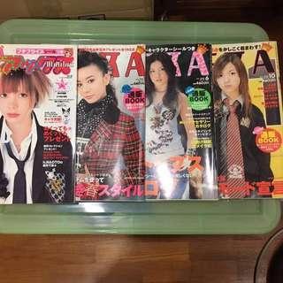 KERA fashion magazines