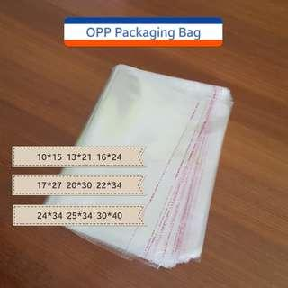 OPP Self-adhesive Transparent plastic bag for packaging (9 sizes)