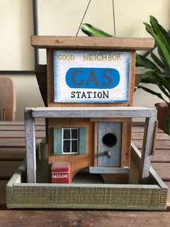 Gas Station with Storage