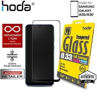 Hoda Tempered Glass for Samsung Galaxy A50/A30 - Black