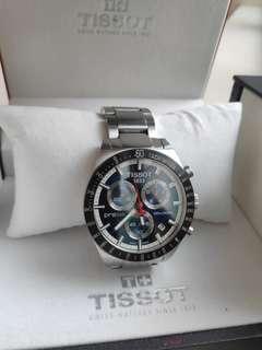 Tissot PRS 516 chronograph men luxury watch sapphire glass