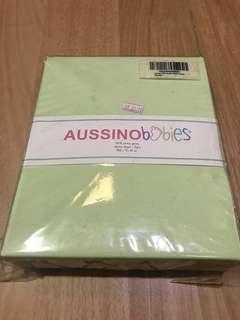 Aussinobabies fitted sheet
