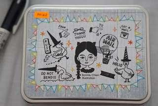 [New] Bonnie Illustration - Goose Postman Rubber Stamps Set