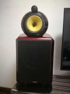 🚚 Audiophile Speakers - B&W Nautilus inspired design