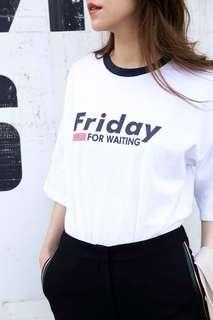 white round neck cotton tshirt