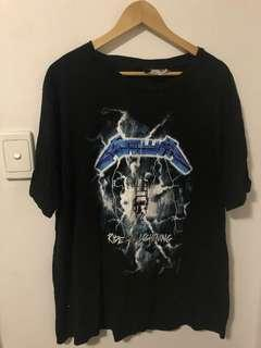 H&M Metallica Band Tshirt