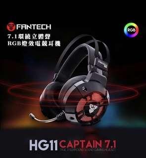 🚚 FANTECH HG11電競耳機